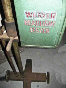 Weaver Rayoscope Headlight Tester