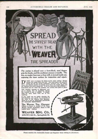 Weaver Tire Spreader AD from 11919