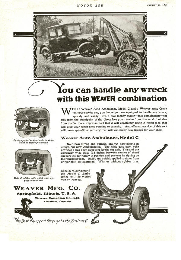 Weaver AD for Auto Ambulance