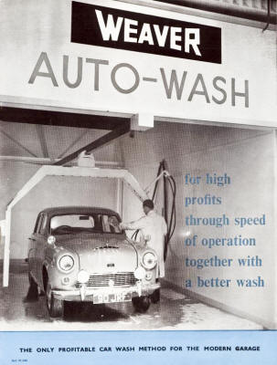 weaver Car Washer - Portable from England