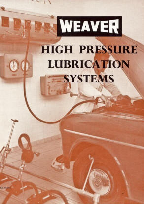 Weaver Brochure for High Pressure Lubrication